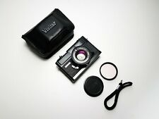 + NEW SEALS & SERVICED + Vivitar 35 ES Compact Rangefinder 35mm Film Camera 7sii