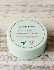 [US SELLER] INNISFREE No Sebum Mineral Powder 5g + Free sheet mask