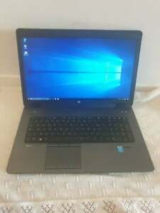 Ordinateur portable HP ZBOOK Windows 10 professionnel I7