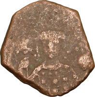 MANUEL I Comnenus 1143AD Ancient Greek Mint BYZANTINE Coin MONOGRAM  i14712