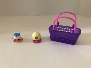 Shopkins Fashion Spree Series #35 CASPER CAP, #6 Penelope Pleats & Basket