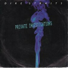 7inch DIRE STRAITS private investigations HOLLAND 1982 EX (S1485)