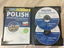 Polish Essential Words and Phrases 2 Audio Cd + Handbook Course