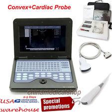 With Convex &Cardiac Sensors Digital Ultrasound Scanner Ultrasonic Machine USA