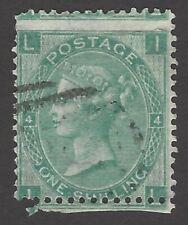GB Great Britain QV Queen Victoria 1865-67 1s green used SG 101 £275