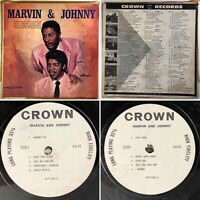 MARVIN AND JOHNNY LP MONO CLP 5381 Vinyl (VG) Tested