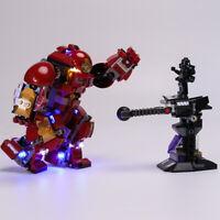LED Beleuchtung Licht Kit Für Lego 76104 Hulkbuster Smash Up Spielzeug DIY Light