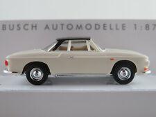 Busch 45816 VW Karmann Ghia 1600 Coupé (1961) in cremeweiß/schw 1:87/H0 NEU/OVP