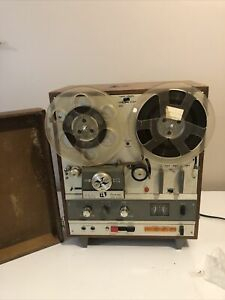 Akai X1800 SD Reel To Reel Cross Field 4 Track/8 Track Recorder,Not Fully Tested