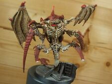 Convertido de metal Warhammer sarcófagos Colmena tirano con alas bien pintados (L)