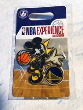Disney Parks NBA Experience Pin Mickey Mouse— golden State Warriors