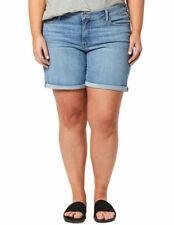 Levi's Ladies Size 20 Sculpt Mid Rise Classic Stretch Denim Shorts