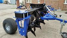 Trailed Grass Slitter Aeratror For ATV 4x4 or Tractor 30 Hardox baldes.