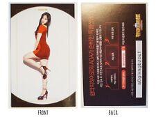 AOA Chanmi Kim Chan Mi Fantasy Hero Game Photo Card Kpop