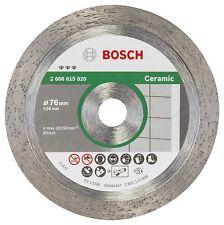 Bosch 2608615020 Diamante de corte del disco mejor para cerámica 76mm 1.9mm 10mm Nuevo