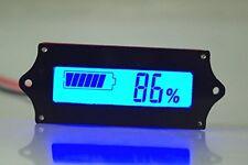 NEW SMAKN® 12v Lead Acid Battery Indicator Capacity Tester LCD Meter Blue