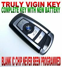 TRULY VIRGIN SMART KEY FOR BMW Fem system 1 2 3 4 series NEW CHIP REMOTE keyless
