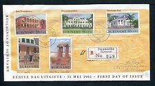 Suriname FDC E16C_  1 (? nieuw) M, met adres ; uitg. Verbrugge