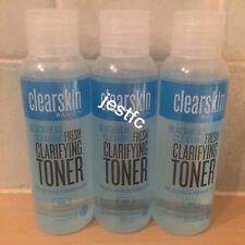 Avon~CLEARSKIN~Blackhead Clearing~FRESH CLARIFYING TONER~x3 Lots