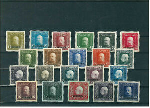 Serbia 1916, Austrian occupation, complete set with overprint, MH
