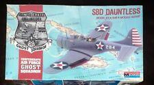MONOGRAM 1/48 SCALE DOUGLAS SBD DAUNTLESS DIVE BOMBER 1988 PLASTIC MODEL KIT