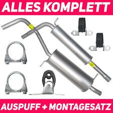 Schalldämpferset Auspuffanlage Auspuff Seat Ibiza 3 III 6L 01-08 1.2 Schrägheck