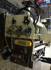 48 X 140 Mecon Servo Feeder Straightener Combination 4 Feed Roll Diameter 6