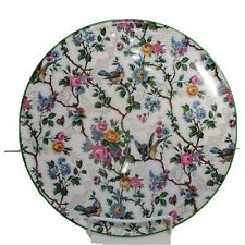 C1930s Large Vintage Royal Winton /'Hazel/' Chintz Pattern Cake Plate  Server Pierced Handles
