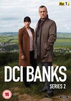 DCI Banks: Series 2 DVD (2012) Stephen Tompkinson cert 15 2 discs ***NEW***
