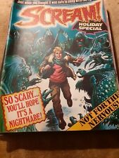Scream Uk Comic 1987