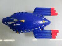 "Vintage Gilmark Mars Atomic Super Rocket Plastic Molded Toy 4"""