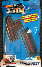 Hot Wheels City * Track Pack 1 Intersection 1 Straight * NEW NIP