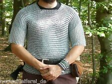 Kettenhemd kurzarm Gr L Mittelalter LARP Wikinger PAGAN
