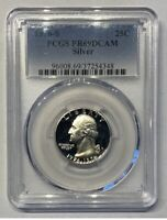 1976-S SILVER Washington Quarter PCGS PR69 DCAM Proof 69 Graded Certified Coin