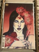 WONDER WOMAN #71 JENNY FRISON VARIANT COVER 2019 HOT ARTIST dc comics gal gadot