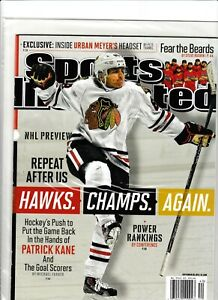 Patrick Kane Sports Illustrated No Label Newsstand Issue