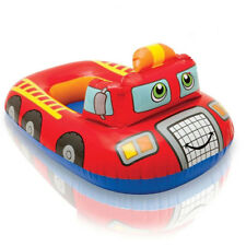 Fire Engine Truck Car Inflatable Baby Kids Child Float Boat Swimming Pool Swim