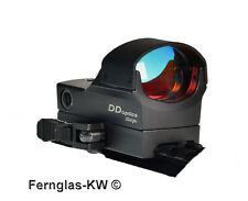 DDoptics Red Dot Reflex-Visier DDSight Leuchtpunktvisier mit Schnellspannmontage