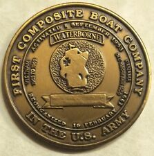 1097th Trans Co. 1st Composite Boat Co. Panama Canal Army Challenge Coin
