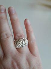 Ring 925 Sterling Silber massiv in ausgefallenem Design
