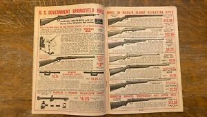 Trappers Friend Hill Bros Fur Co Trappers Trapping Vintage Catalog Guns Rifle