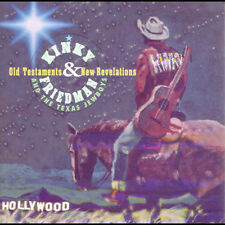 Old Testaments & New Revelations by Kinky Friedman & Texas Jewboys (CD)  Not PC