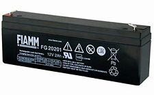 FIAMM FG20201 Batteria al piombo ricaricabile 12V 2,0Ah UPS ANTIFURTO ALLARMI