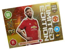 PANINI FIFA 365 2021 LIMITED BRUNO FERNANDES - MANCHESTER UNITED