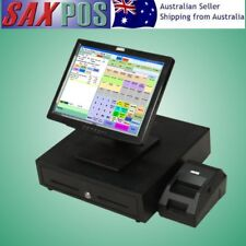 SAXPOS S2301 Complete Touchscreen Basic POS (Point of Sale) System with Software