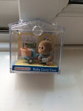 Sylvanian Families Baby Carry Case Monkey on a Tricycle Bike
