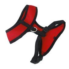 S codigo rojo Arnes seguridad coche para perro mascota malla transpirable K3N6