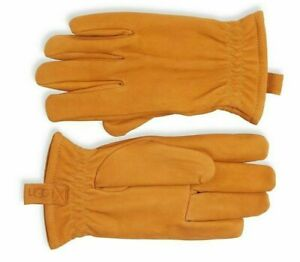 New Men's Ugg Faux Fur-Lined Suede Gloves [11160] Timber Size XL NWT $95 ⭐️