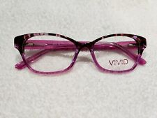 VIVID SP 66 Eyeglass frames Demi Purple 52 16 140 New