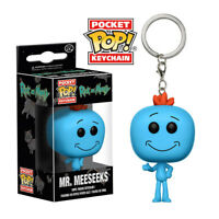 Funko Pocket POP! Keychain Rick and Morty - MR. MEESEEKS (1.5 inch) - New in Box